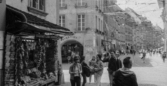 Alte Stadt – alte Aufnahmetechnik