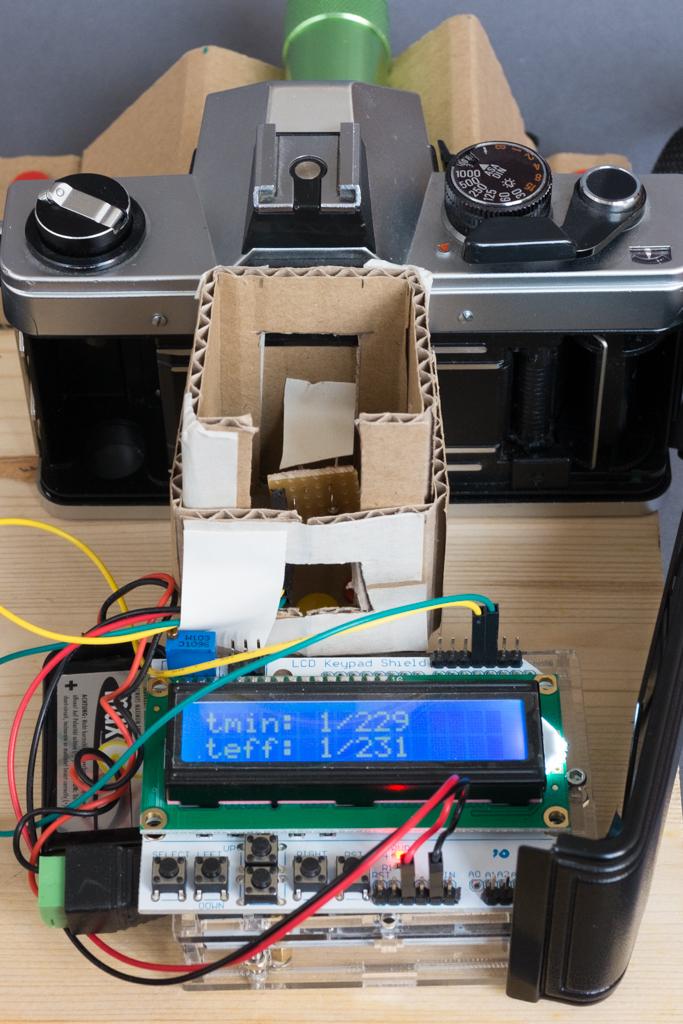 Messgerät für Verschlusszeiten